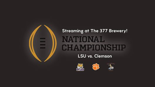 National Championship LSU vs. Clemson
